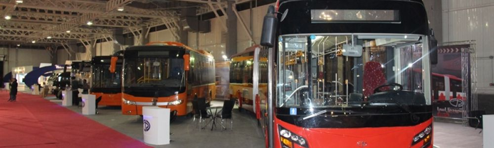 For the first time in Iran the CNG buses